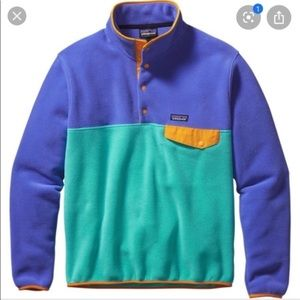 Rare Patagonia Synchilla Pullover HowlingTurquoise